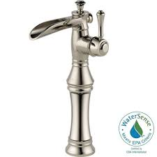Polished Nickel Kitchen Faucet Delta Cassidy Single Handle Pull Down Sprayer Kitchen Faucet In