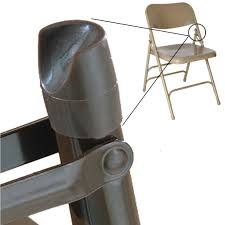 plastic metal chairs. Individual Pieces - Plastic Stability Caps For Metal And Padded Folding  Chairs, Fits 7/ Plastic Metal Chairs