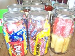 so i went candy canning happy and filled 6 of the 2 quart jars