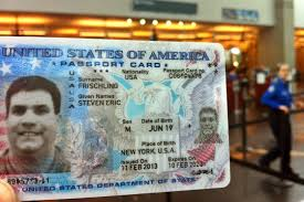 Us Passport Card Template The U S Passport Card Identification Anomaly Flying With Fish