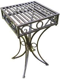 versailles metal garden table antique