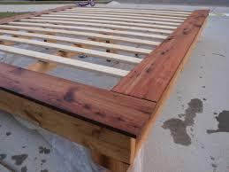 diy king bed frame. Simple Bed King Size Platform Frame Intended Diy Bed T