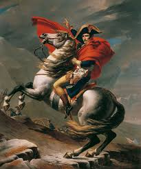 napoleon superstar napoleon at the great st bernard pass jacque louis david 1801