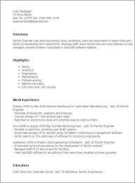 general engineer resume professional facility engineer templates to showcase your talent