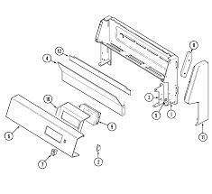 Crg9700cae range control panel parts diagram wiring information parts diagram