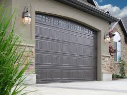 Wonderful Brown Garage Doors With Windows Door Openers Wageuzi Intended Simple Ideas