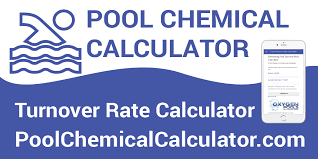 Pool Filter Size Chart Pool Turnover Rate Calculator
