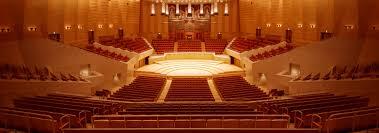 Seating Plan Main Hall Suntory Hall
