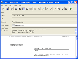 Example Of A Fax Message Returned Error Message