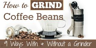 Place your hands on opposite sides of pan and push down. How To Grind Coffee Beans 9 Methods With Without A Grinder