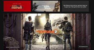 The Division 2 picks Epic Games Store over Steam