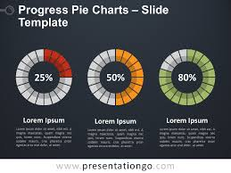 Google Graphs Pie Chart Progress Pie Charts For Powerpoint And Google Slides