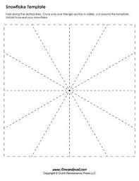 Blank Snowflake Template Blank Snowflake Template Christmas Snowflake Template