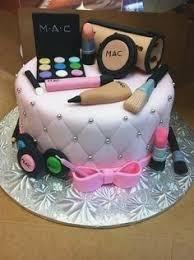 Cosmetics Birthday Cake Girls Name Birthdaycakeforkidscf