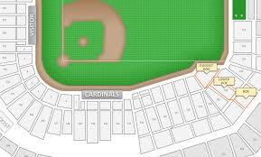 St Louis Cardinals Seating Chart Suites St Louis Cardinals Busch Stadium Seating Chart