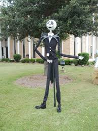 We made Jack Skellington from The Nightmare Before Christmas for a ...