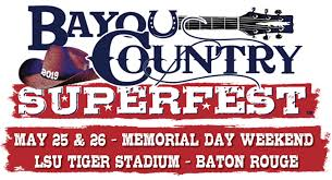 Want Weekend Passes To Bayou Country Superfest Win Em Here