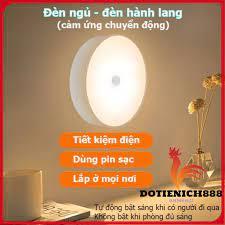 Đèn led cảm ứng chuyển động sạc pin,đèn led cảm biến thông minh không dây  dán tủ quần áo, cầu thang, phòng ngủ tại Hà Nội