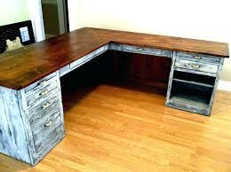 l shaped desk wood rustic l shaped desk wooden l desk excellent office desk wood office