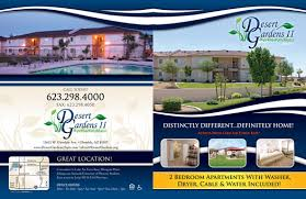 apartment brochure design. Brochures Horizons North - Outside Apartment Brochure Design E