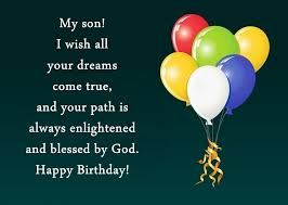 You may be just a toddler and may not really care, but we promise to celebrate your birthday with pomp and flair. Birthday Wishes First Birthday Wishes For Son From Parents