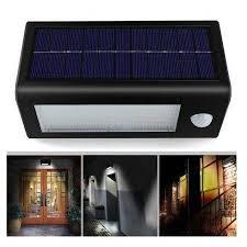 32 led solar pir motion sensor lights outdoor lamp garden lights wall lamps street light