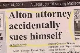 Funny news headlines [Photos]