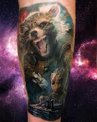 Marvel Tattoo Photo By Dragoon007 On Instagram Rocketraccoon