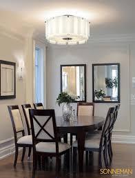 breakfast room lighting. Velo 3189 01 SEMI FLUSH MOUNT Sonneman Lighting Contemporary Pertaining To Flush Mount Dining Room Light Breakfast