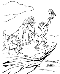 Lion King Printable Coloring Pages Printables Pinterest