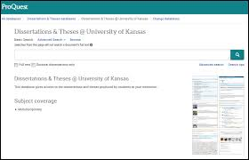 completed ku dissertations theses ku thesis and dissertation  to view theses or dissertations from your department use the department as your search term or search by author subject or title as usual