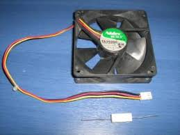 simple ways to make fans silent provide yourself the fan and the resistor