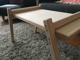 first woodworking project nomadic table from victor papanek s book really happy with how it turned out