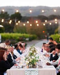 lighting decorations for weddings. Outdoor Wedding Lighting Ideas From Real Celebrations | Martha Stewart Weddings Decorations For