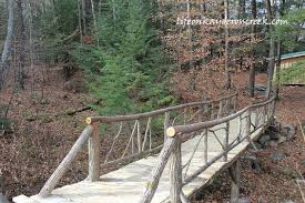 building an adirondack bridge, diy, landscape, outdoor living, woodworking  projects