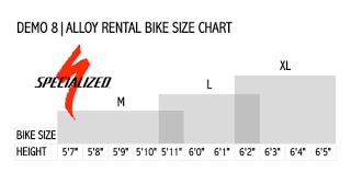 Competent Downhill Mountain Bike Size Chart 2019