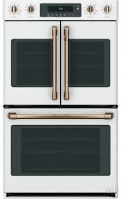 french door electric smart wall oven