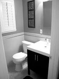 small black and grey bathroom decor