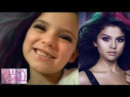 selena gomez the scene makeup tutorial for kids by emma 7 years old