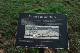was king arthur and the knights of round table real king arthur s round table found