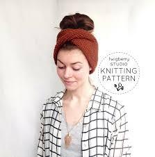 Ear Warmer Headband Knitting Pattern Simple Inspiration Ideas