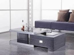 contemporary coffee table sets grey