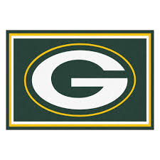 fanmats green bay packers 5 ft x 8 ft area rug