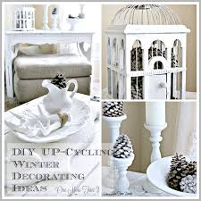 Diy Up Cycling Winter Decorating Ideas At Www.onemoretimeevents.com