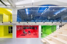 mvrdv office architecture interior self designed studio rotterdam