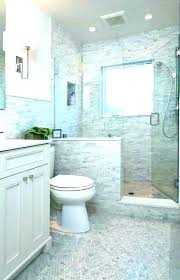 shower door with half wall pony glass inline wallpaper knee shower glass i like the half privacy wall