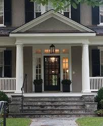 big ole front porch double thumbs up habitat exterior facade entrance