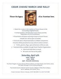 cesar chavez poems poems xx communicator cesar chavez commemorations and labor