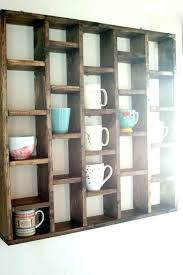 coffee cup rack wall mount wall mounted cup holder coffee mug wall rack coffee mug holders