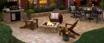 Stone Patio Bench Design U2014 Unique Hardscape Design  Longlasting Backyard Patio Stones